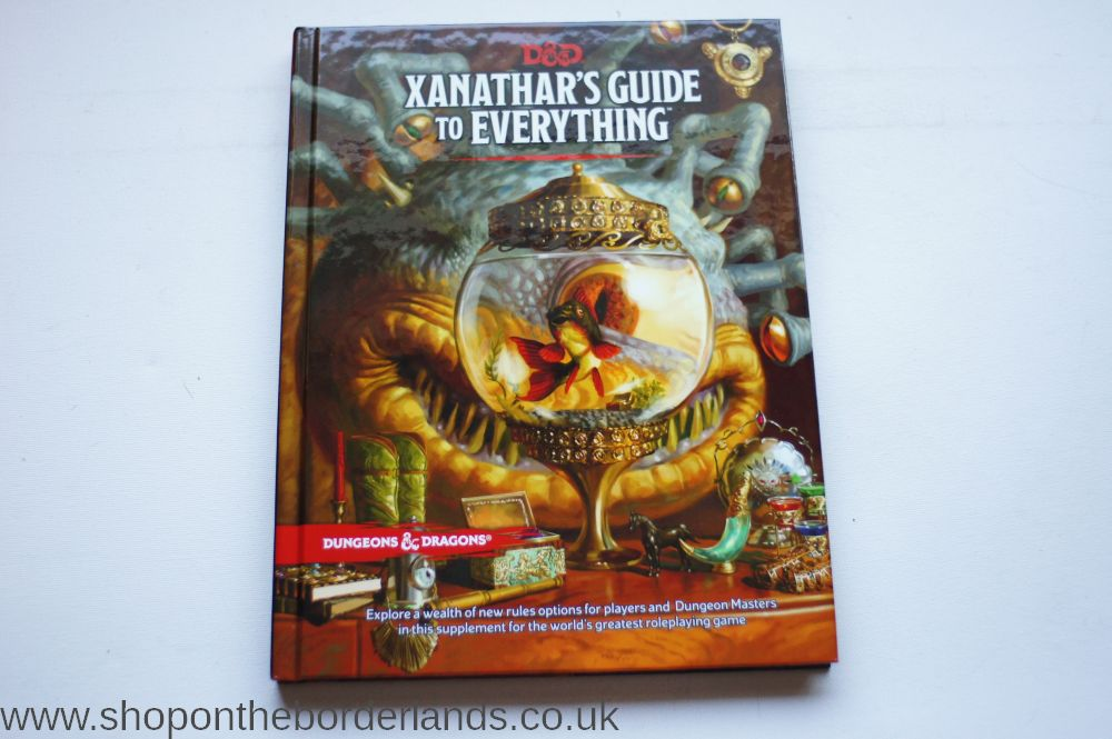 Xanathar guide to everything pdcf