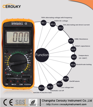 digital multi meter m890c manual