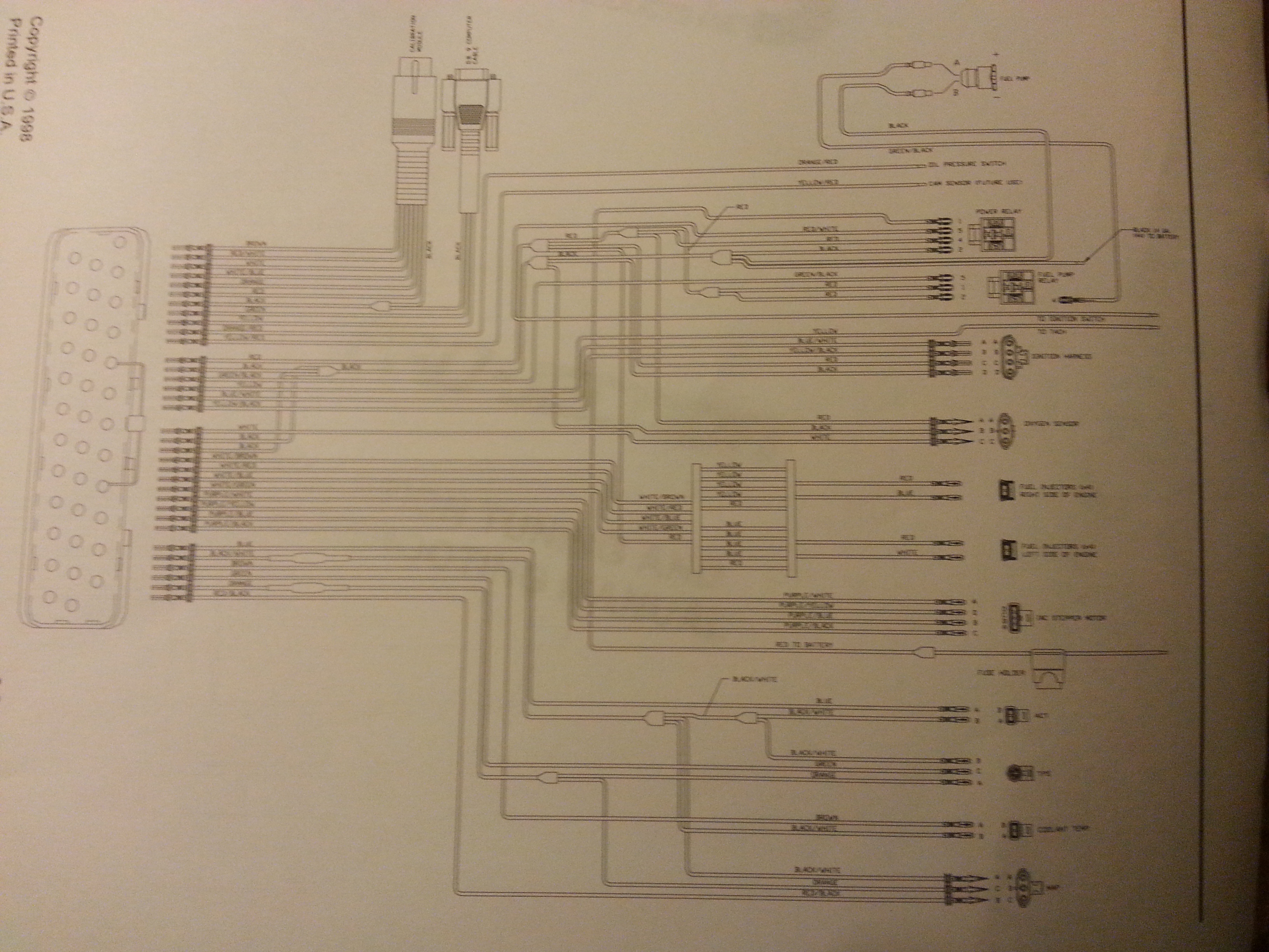 holley analog projection instructions