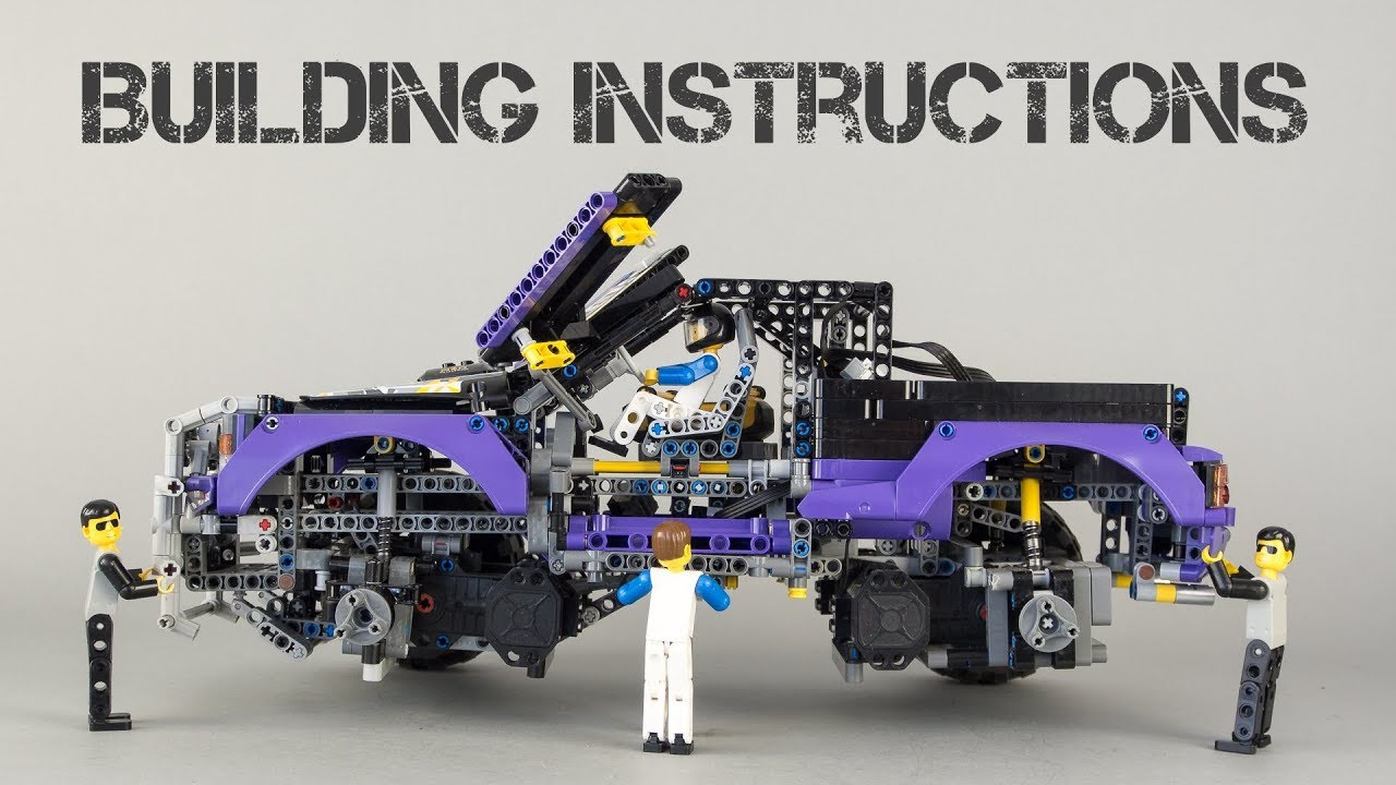 lego technic instructions 42069