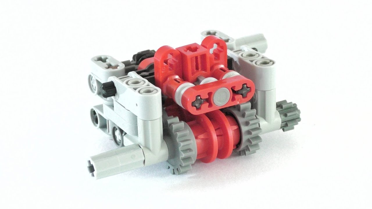 Lego 4 speed gearbox instructions