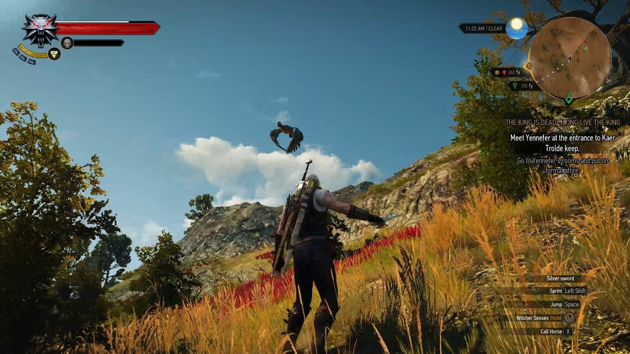 Witcher 3 how to travel to velen