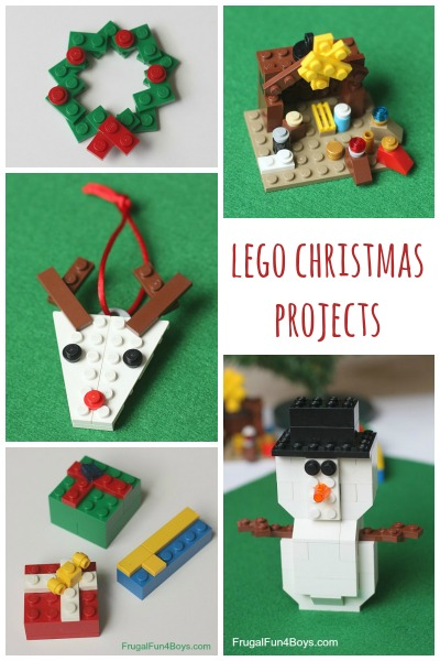 lego christmas building instructions