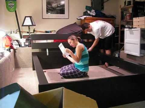 instructions for putting a cot together
