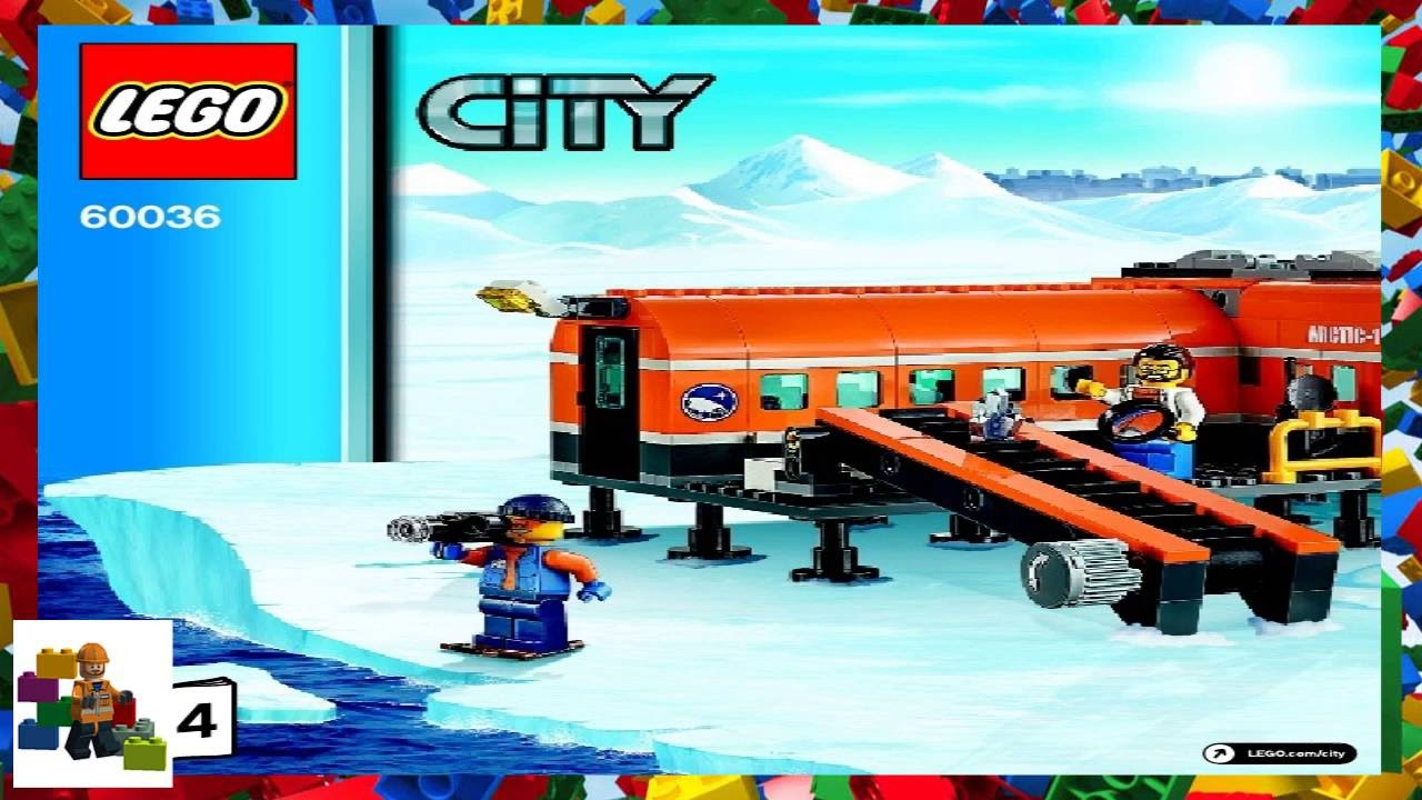lego arctic base camp instructions