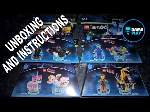 lego dimensions benny instructions